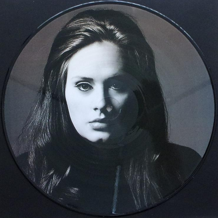 """Adele - Rolling In The Deep - Part 2 / PICT135 - Picture Maxi 12"""" - LPs & Schallplatten - Bild 1"""