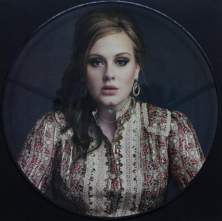 "Picture Maxi 12"" - Adele -  Set Fire To The Rain - Part 1 / PICT131 - LPs & Schallplatten - Bild 1"