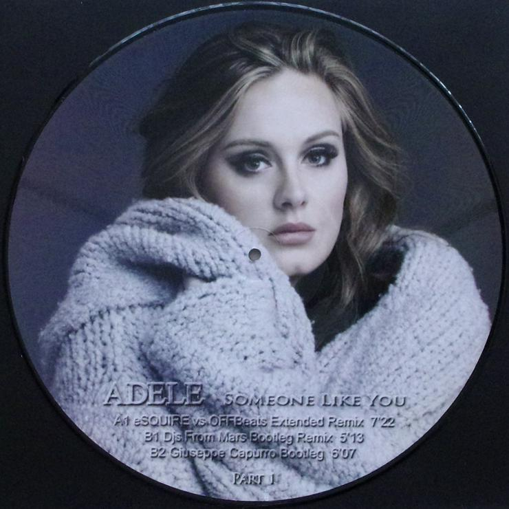 """Bild 2: Adele - Someone Like You - Part 1 / PICT132 - Picture Maxi 12"""""""
