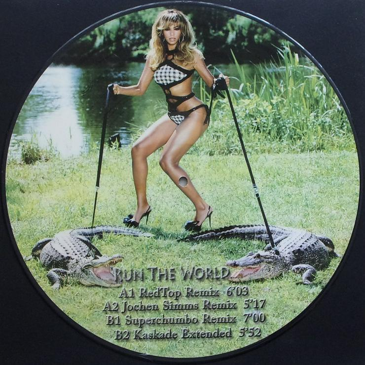 """Bild 2: Picture Maxi 12"""" - Beyoncé - Run The World / PICT 104"""