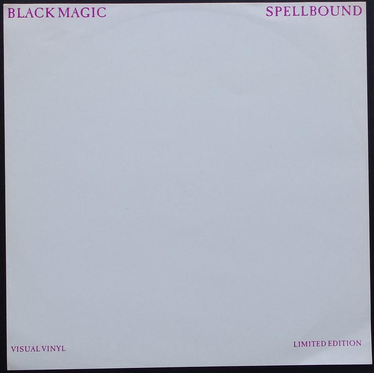 "Bild 4: Black Magic - Spellbound / VV1002 / Limited Edition - Picture Maxi 12"""