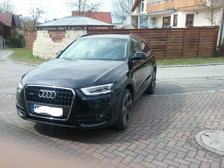 Audi Q3 2.0 TDI  Quattro  S- Tronic schwarz - Q3 - Bild 1