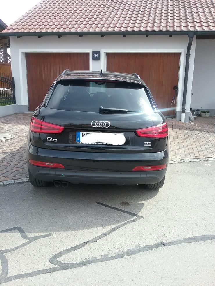 Bild 3: Audi Q3 2.0 TDI  Quattro  S- Tronic schwarz