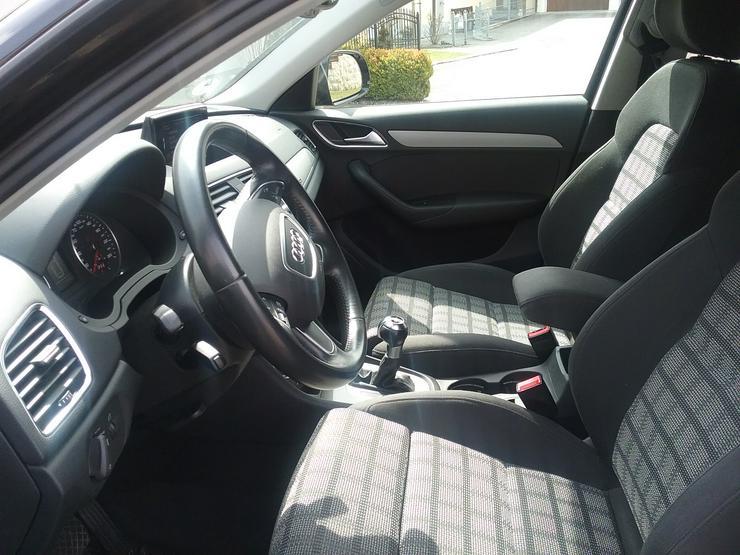 Bild 5: Audi Q3 2.0 TDI  Quattro  S- Tronic schwarz