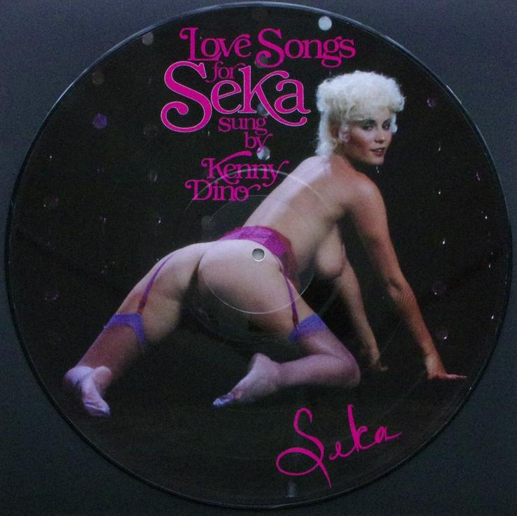 Kenny Dino - Love Songs for Seka - 1980 - Picture EP