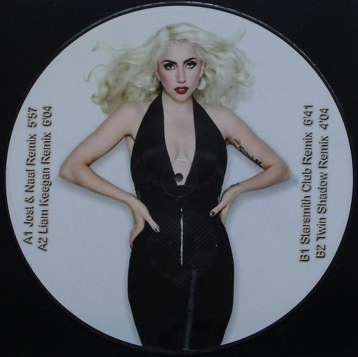 """Bild 2: Lady Gaga - Born This Way Part 4 / PICT 94 - Picture Maxi 12"""""""