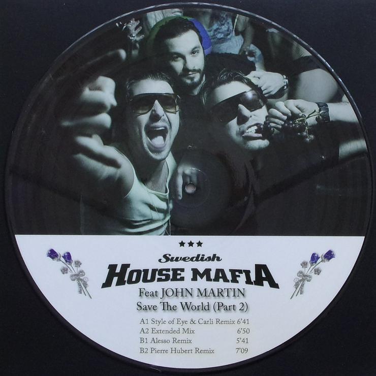 """Bild 2: Swedish House Mafia feat. John Martin - Save The World - MIAMI 7 - Picture Maxi 12"""""""