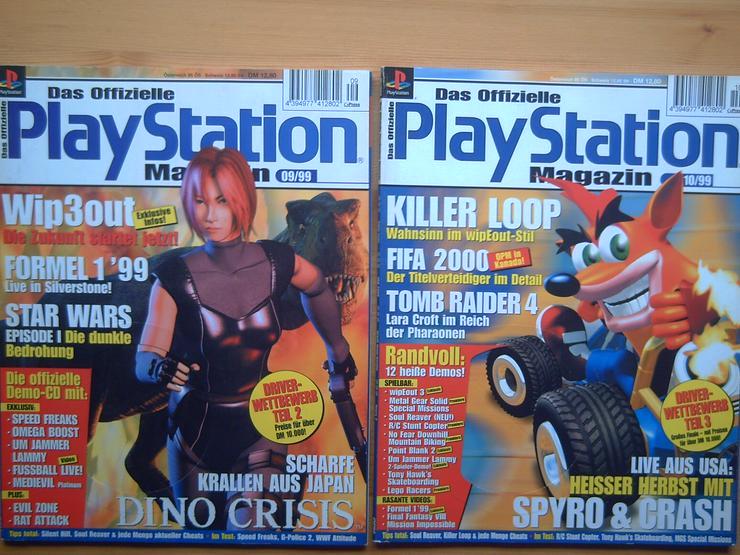 Bild 5: 13 x Das Offizielle SONY Playstation Magazin, Heft, Zeitschrift, aus Sammlung, wie NEU