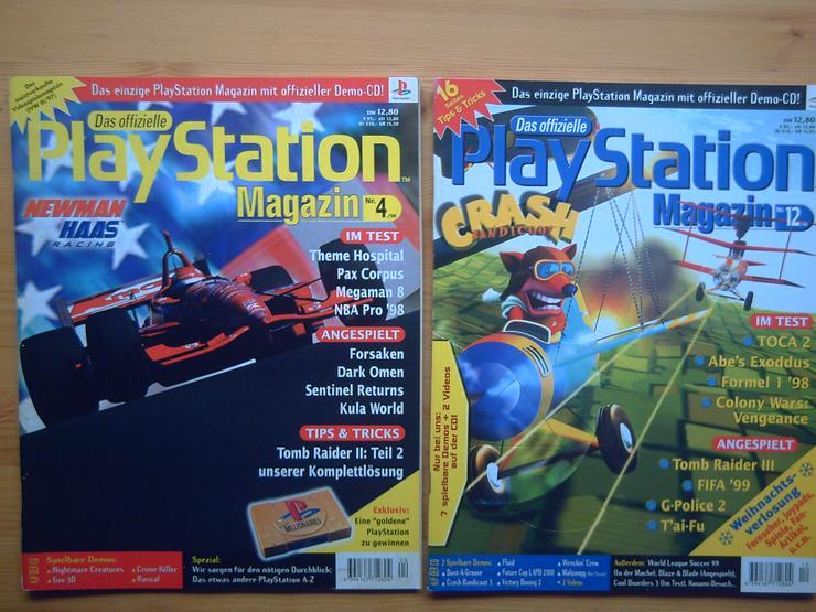 Bild 3: 13 x Das Offizielle SONY Playstation Magazin, Heft, Zeitschrift, aus Sammlung, wie NEU