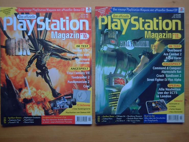 13 x Das Offizielle SONY Playstation Magazin, Heft, Zeitschrift, aus Sammlung, wie NEU - Zeitschriften & Zeitungen - Bild 1