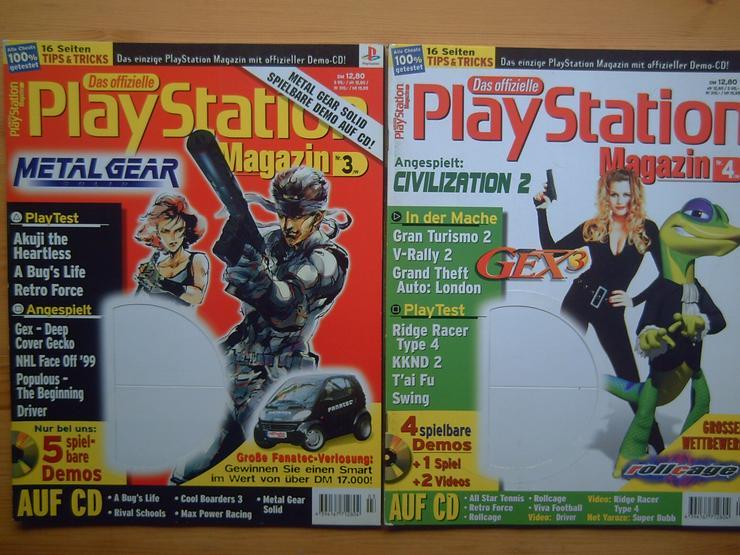 Bild 4: 13 x Das Offizielle SONY Playstation Magazin, Heft, Zeitschrift, aus Sammlung, wie NEU