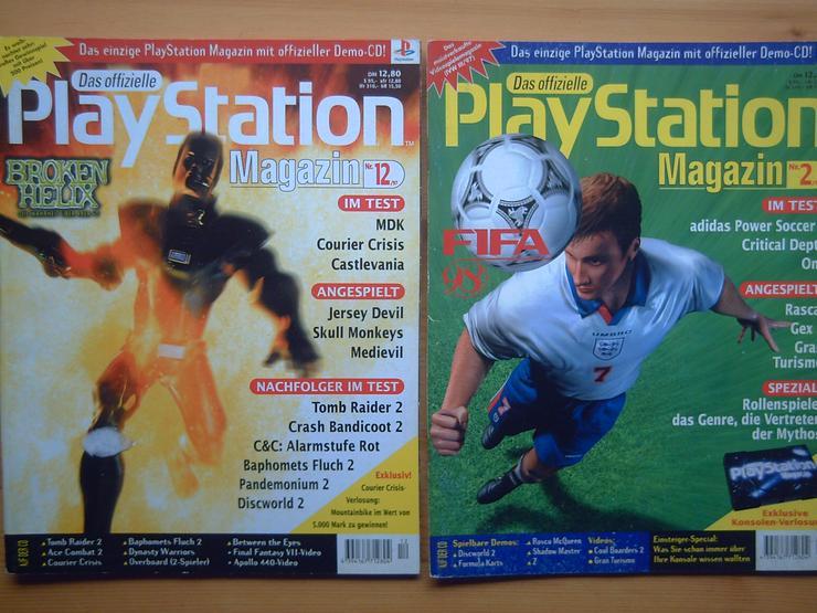 Bild 2: 13 x Das Offizielle SONY Playstation Magazin, Heft, Zeitschrift, aus Sammlung, wie NEU