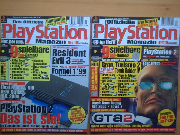 Bild 6: 13 x Das Offizielle SONY Playstation Magazin, Heft, Zeitschrift, aus Sammlung, wie NEU
