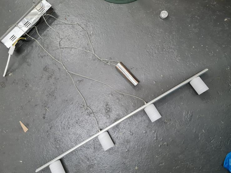 Bild 4: Deckenlampe Höhenverstellbar