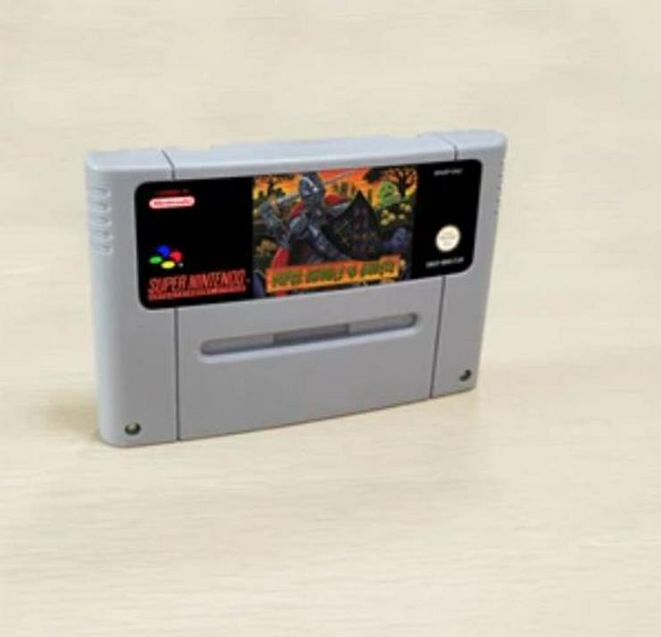 Bild 3: Earthbound Super Ghouls'n Ghosts Ninja Gaiden Trilogy für Super Nintendo