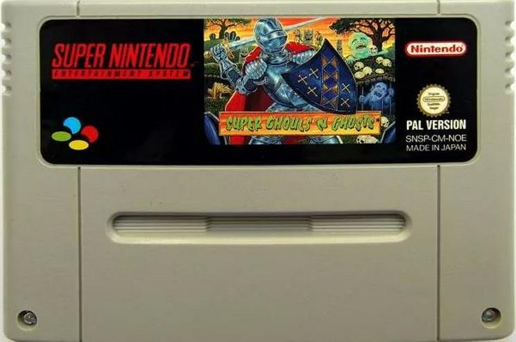 Bild 4: Earthbound Super Ghouls'n Ghosts Ninja Gaiden Trilogy für Super Nintendo