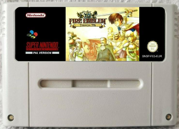 Bild 3: Fire Emblem Thracia 776 + FIRE EMBLEM GENEOLOGY für SNES