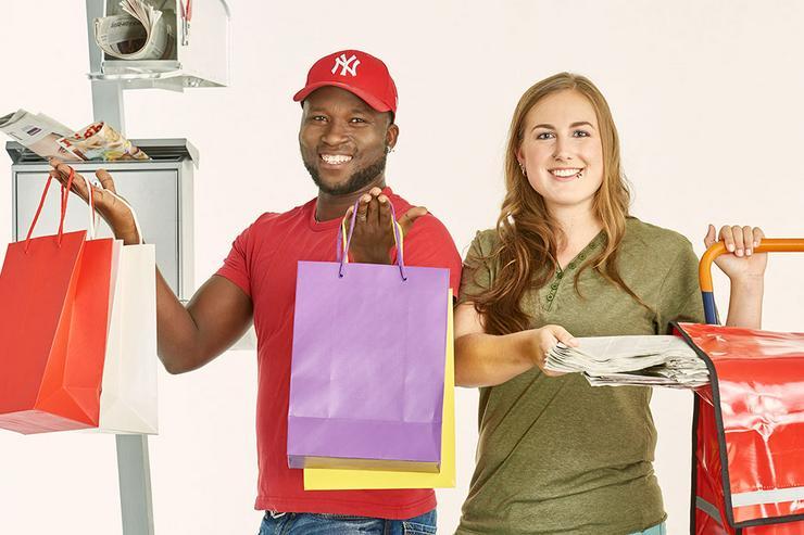 Schülerjob, Nebenjob, Job - Zeitung austragen in der Region Bühl