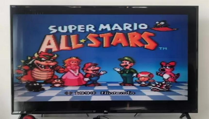Super Mario All Stars + Super Mario World fur Super Nintendo