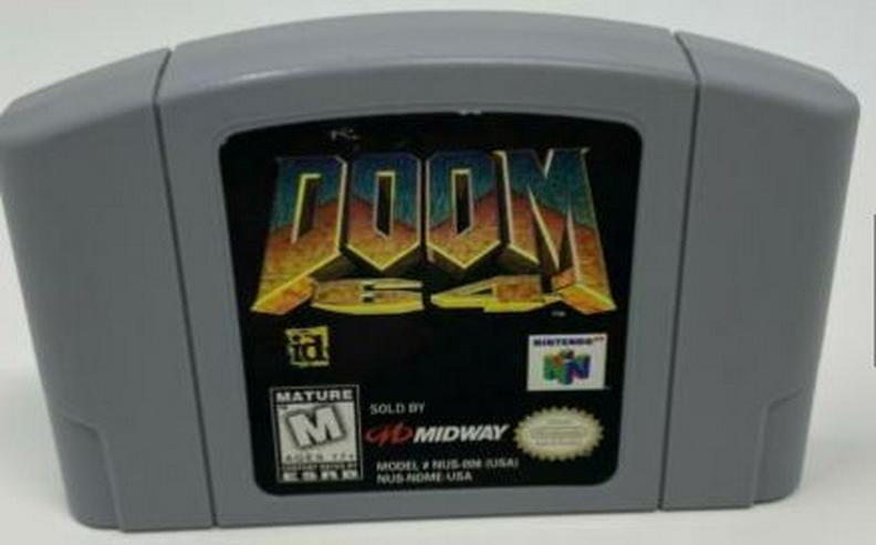 Doom 64 Turok 2 Banjo Kazooie Mortal Kombat 4 Nintendo 64 Konsole