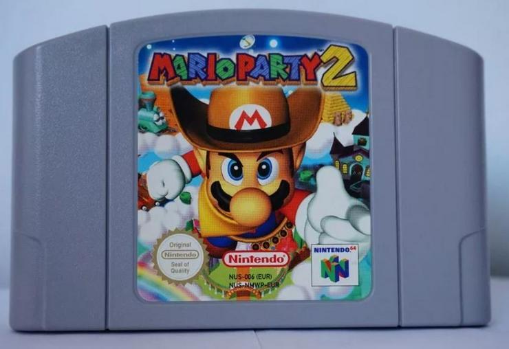 Super Smash Bros Mario Party 1-2-3 Nintendo 64