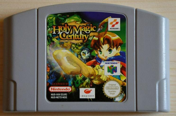 Golden Eye 007 Dark Rift Holy Magic Century für Nintendo 64