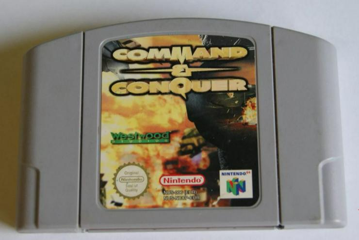 Aero Gauge Command Conquer Batman Return of the Joker für Nintendo 64