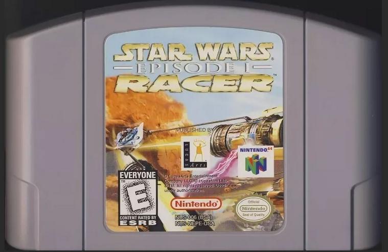 F1 World Grand Prix II Airboarder 64 Star Wars Episode 1 Racer für N64