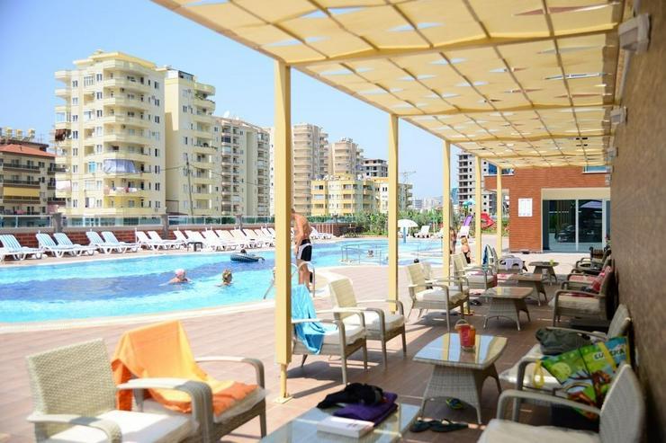 Türkei, Alanya. Möbl.3 Z. Wohnung in einer Luxus Residenz. 483