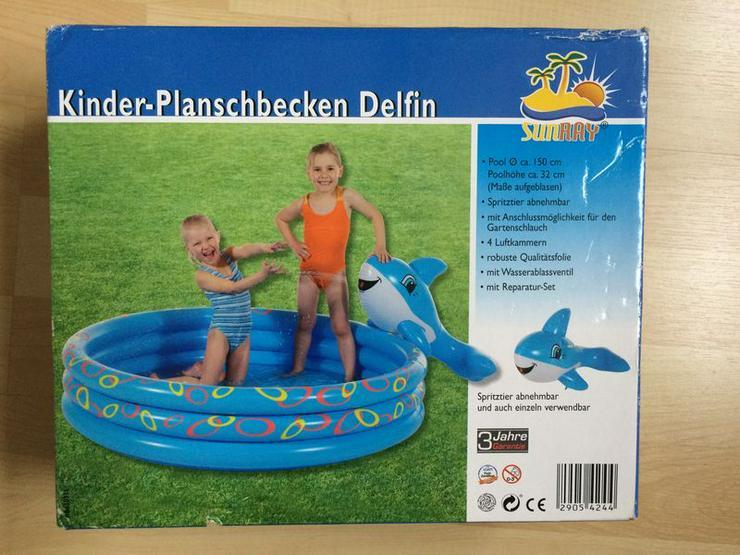 """OVP Planschbecken mit Spritztier """"Delphin"""""""