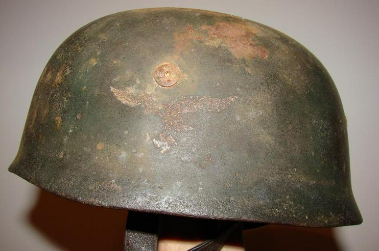 Stahlhelm M38 Fallschirmjager aus Wk2, ET68