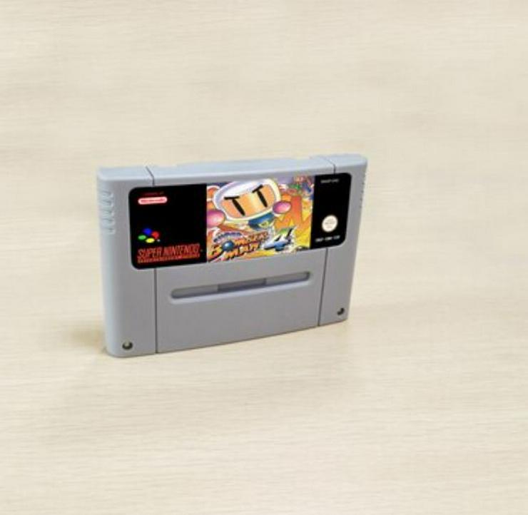 Super Bomberman 1 - 2 - 3 - 4 - 5 / 5 in 1 für Super Nintendo Konsole