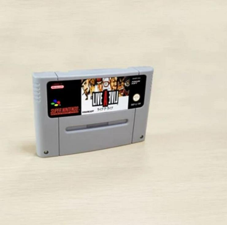 Parodius Demon's Crest Live A Live für Super Nintendo