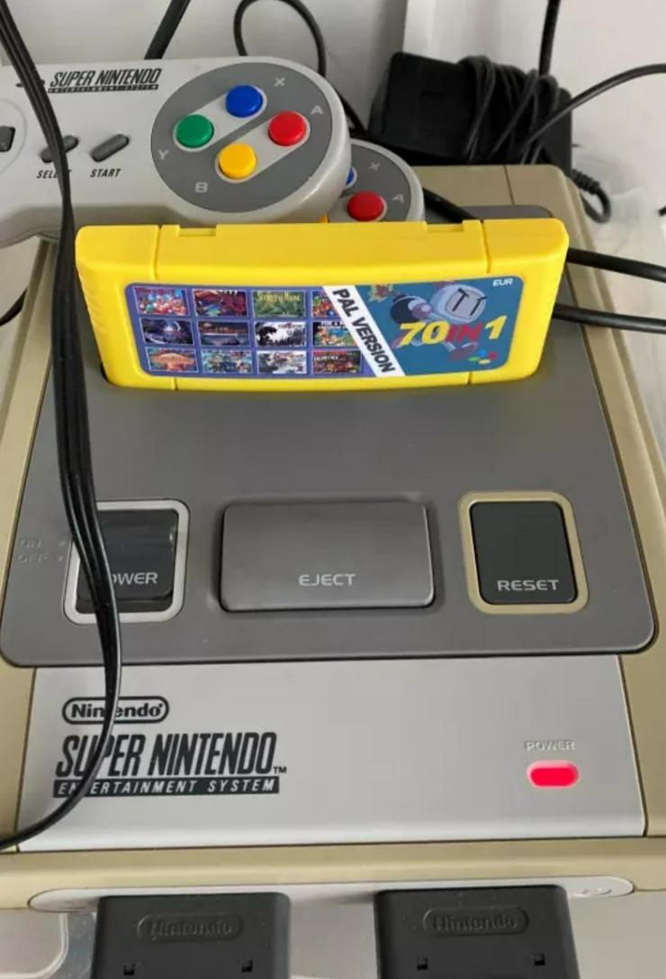 Multi Module/Kartridge für SNES-Turtles,Bomberman,Sparkster,Ninja und und und