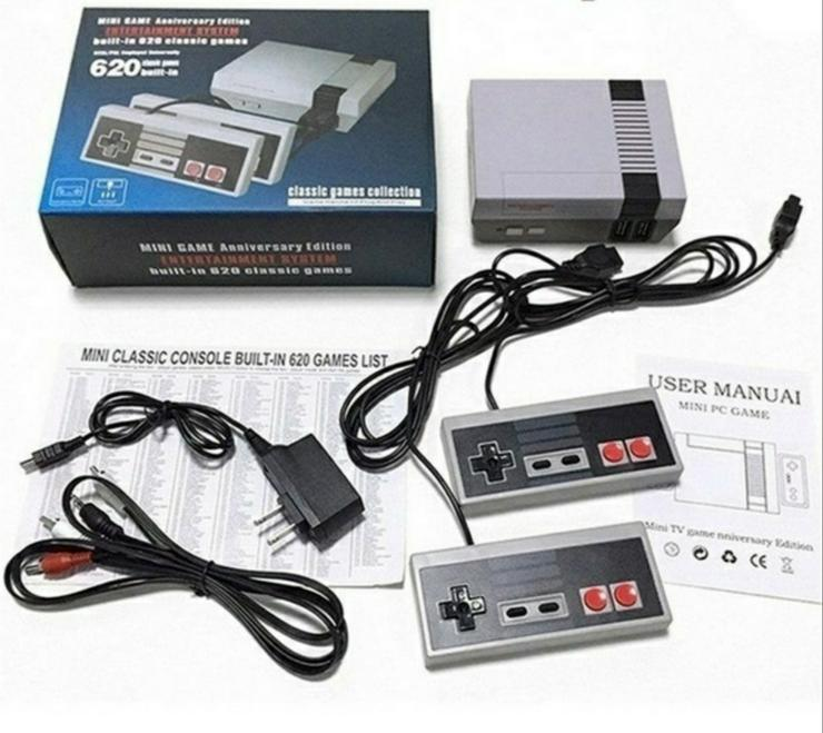 Mini retro Spiel Konsole in NES Style 620 Spiele