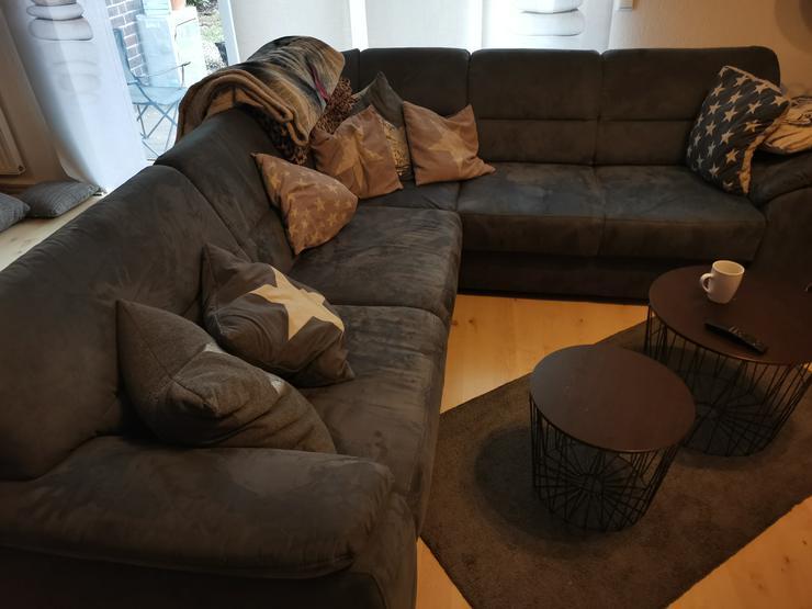 Couch Sofa Rundecke mit Federkern