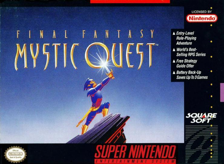 Final Fantasy Mystic Quest+ 1 2 3 4 5 6 Teile fur Super Nintendo Konsole