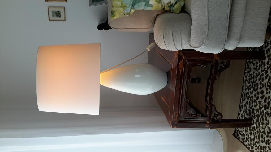 2 große Tischlampen, Gesamthöhe 78 cm