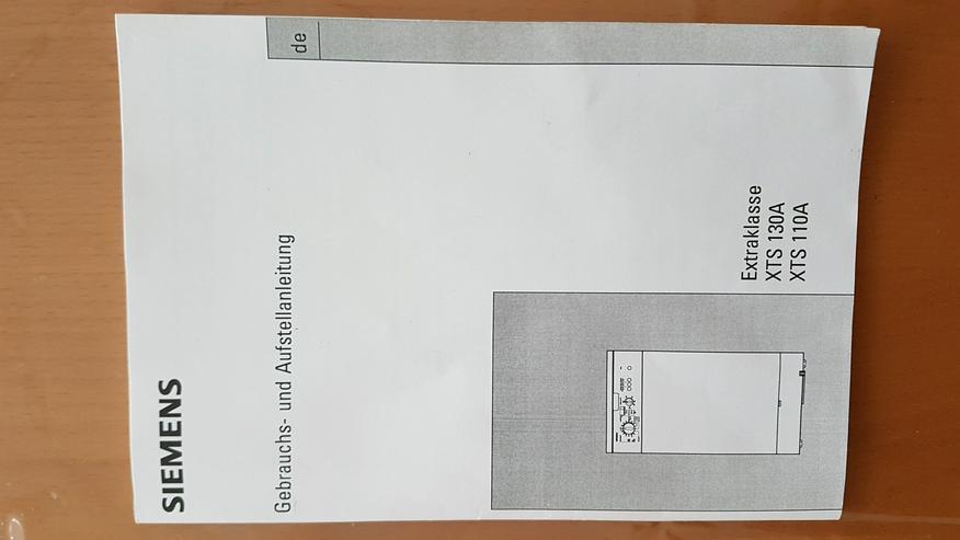 Siemens Toplader Extraklasse XTS 130A