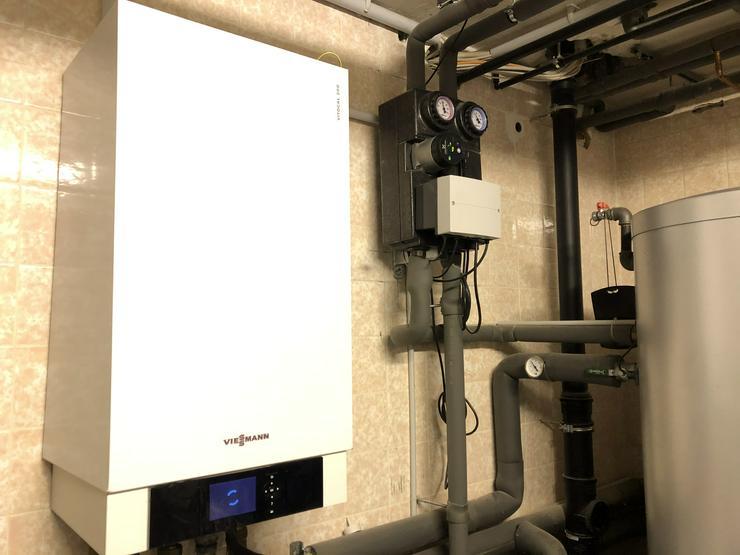 Verkauf Luft/Wasser-Wärmepumpe VITOCAL 200-S, Typ AWS-AC & Heizungsanlage