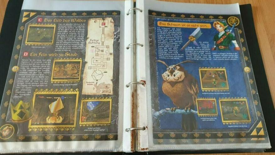 2 Offizielle Zelda Lösungsbücher (Ocarina of Time + Wind Waker) - Lösungsbücher - Bild 1