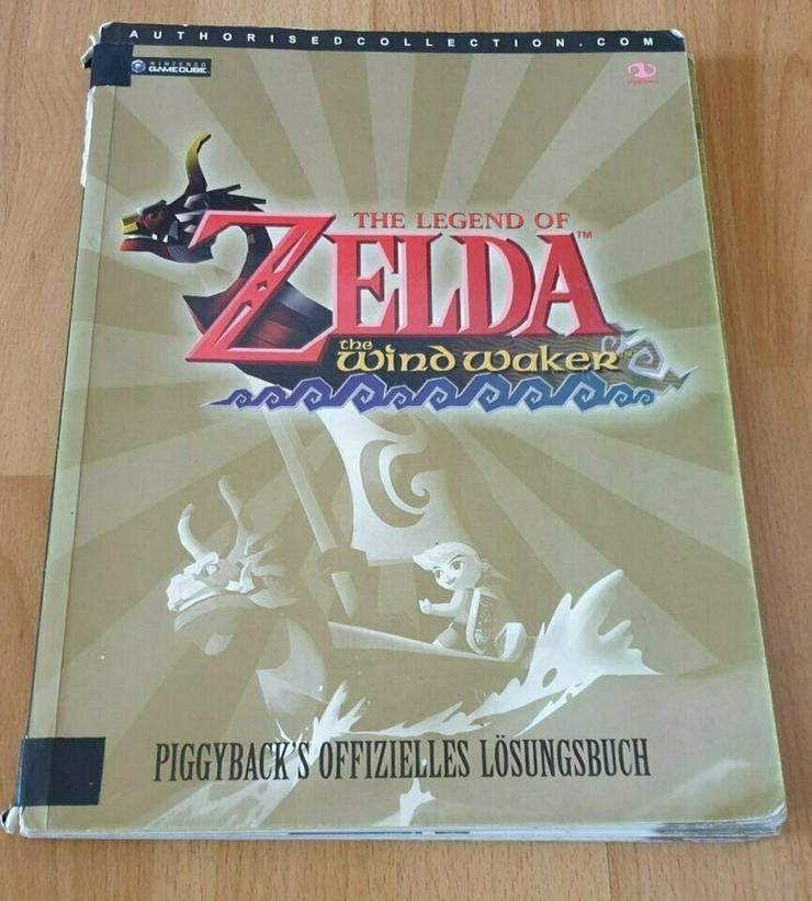 Bild 3: 2 Offizielle Zelda Lösungsbücher (Ocarina of Time + Wind Waker)