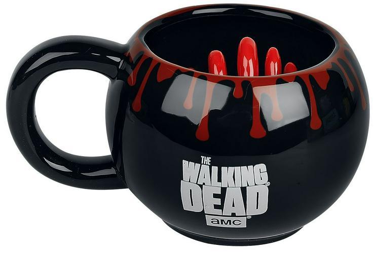 Die Walking Dead 3D Tasse
