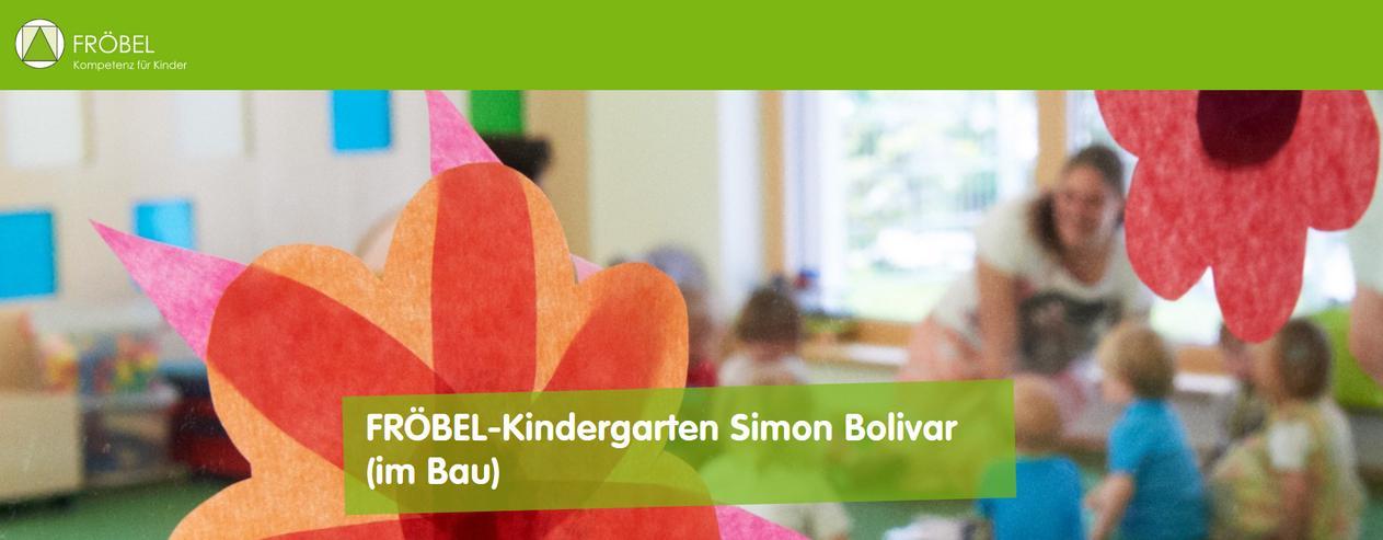 Erzieher / Kindheitspädagoge im Kindergarten Simon Bolivar (m/w/d)