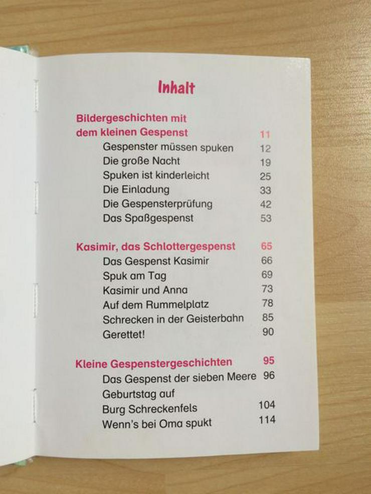 """Bild 2: Kinderbuch """"Piccolino Gespenstergeschichten"""""""