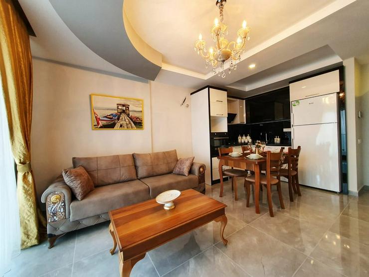 Bild 2: Türkei, Alanya. Möblierte 2 Zi. Wohnung. Neubau. Erstbezug.  459