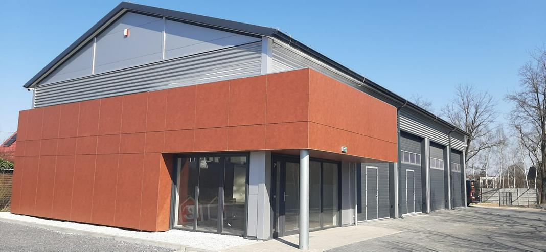 Stahlhalle Mehrzweckhalle mit Beurobereich - Gewerbeimmobilie kaufen - Bild 1