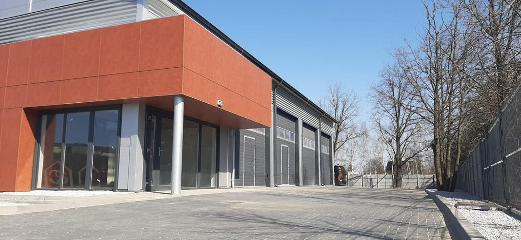Bild 3: Stahlhalle Mehrzweckhalle mit Beurobereich