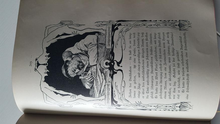 Bild 3: Ekkehard-Geschichte in DEUTSCHER SCHRIFT