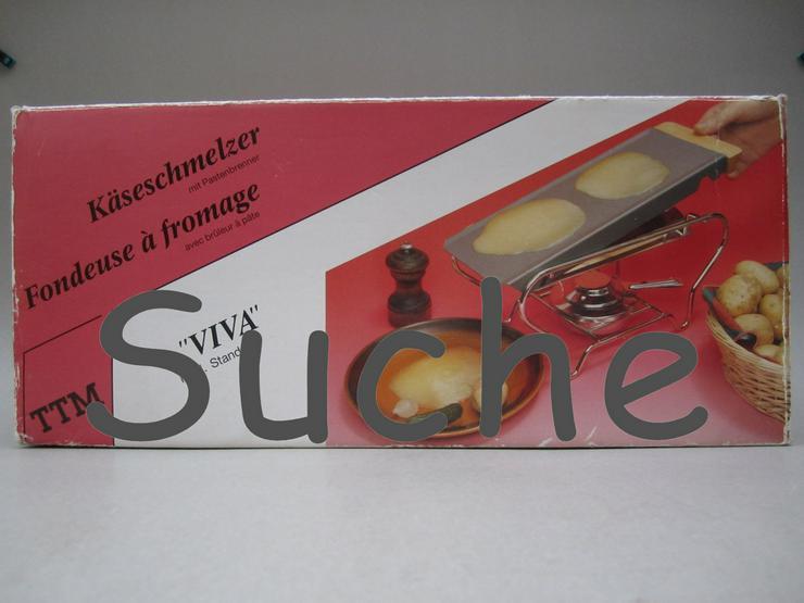 Suche TTM VIVA Käseschmelzer Raclette - weitere Küchenkleingeräte - Bild 1